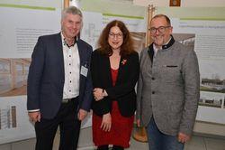 Ralf Böttger, Monika Griefahn, Dieter Brecheis.